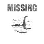 Missing Loch Ness Monster - Distressed -