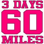 3 DAYS 60 MILES