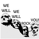Queen - We Will Rock You (Rushmore)