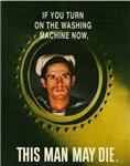 Navy Washing Machine