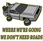 Back To The Future - We Don't Need Roads