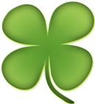 Lucky Irish Four Leaf Clover