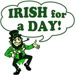 Irish For A Day Leprechaun