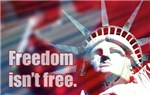 Freedom Isn't Free Patriotic Hats & Gifts