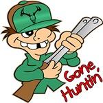 Gone Huntin' Cartoon