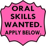 Oral Skills Wanted Apply Below 2