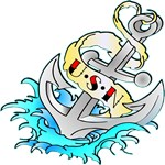 USN Anchor Tattoo
