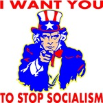Uncle Sam Want You Stop Socialism
