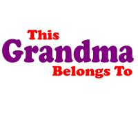 This Grandma Belongs To Personalized