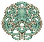 Octopus Emblem Green