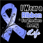 Ribbon Hero in My Life Stomach Cancer Shirts
