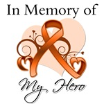 Kidney Cancer In Memory of My Hero Shirts