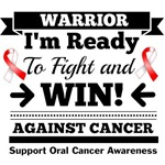 Oral Cancer Ready To Fight and Win Shirts