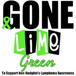 Gone Lime Green Non-Hodgkin's Lymphoma T-Shirts