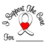I Support The Cure - Lung Cancer T-Shirts