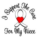 Lung Cancer Cure (Niece) T-Shirts