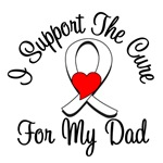 Lung Cancer Cure (Dad) T-Shirts
