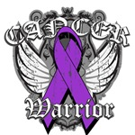 Pancreatic Cancer Warrior Winged Shirts and Gifts