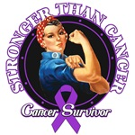 Stronger Than Cancer Pancreatic Cancer Shirts