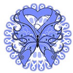 Stomach Cancer Butterfly Shirts and Gifts