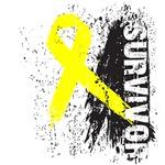 Survivor Sarcoma Ribbon Shirts and Gifts