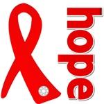 Hope Heart Disease Ribbon Shirts and Gifts