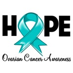 Hope Ovarian Cancer Shirts and Gifts