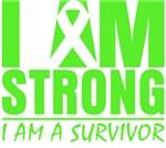 I am Strong Non-Hodgkin's Lymphoma Shirts