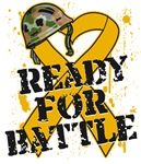 Ready For Battle Appendix Cancer Shirts