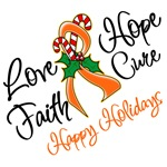 Holiday Hope Kidney Cancer Shirts and Gifts