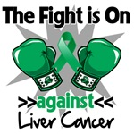The Fight is On Liver Cancer Shirts