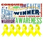 Empowering Words Sarcoma Shirts