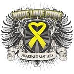 Hope Cure Ewing Sarcoma Shirts