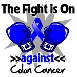 The Fight is On Colon Cancer Shirts