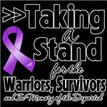 Taking a Stand Pancreatic Cancer Shirts