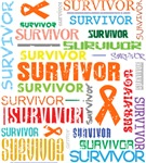 Survivor Colorful Kidney Cancer Shirts and  Gifts