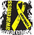Sarcoma Awareness Grunge Ribbon Shirts