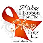 I Wear a Ribbon Hero in My Life Multiple Sclerosis