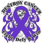 Destroy Leiomyosarcoma Cancer Shirts and Gear