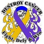 Destroy Bladder Cancer Shirts and Gear