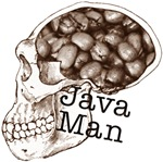 Java Man, Or Evolution By Coffee