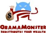 Obama Monster Redistributes Wealth
