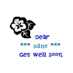 Get well soon (personalisable)