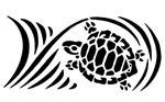 Black Sea Turtle Design