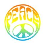 Peace - rainbow