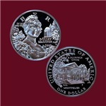 Dolley Madison Commemorative Silver Dollar