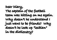 Dear Diary 5