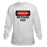 Danger Methane Gas
