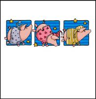 Sleepytime piggies