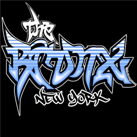 Bronx Graffiti T-shirts and gear